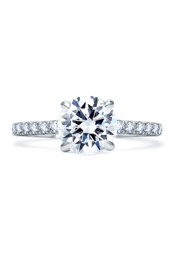 A.Jaffe Fancy Side Stone Engagement Ring ME1850Q-108 product image