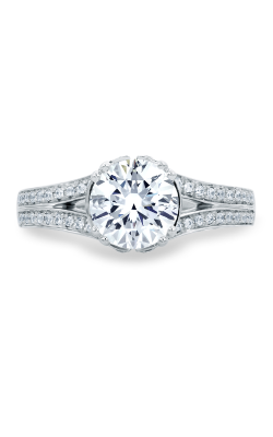 A. Jaffe Art Deco Engagement ring MES680-219 product image