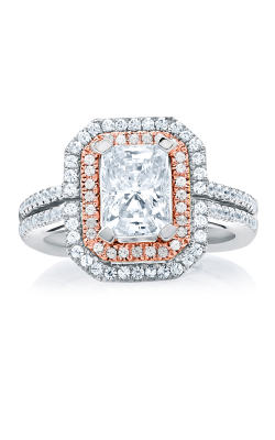 A. Jaffe Art Deco Engagement ring MES637-194 product image