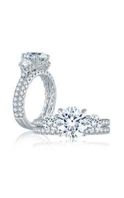 A. Jaffe Classics Engagement Ring ME1871Q-308 product image