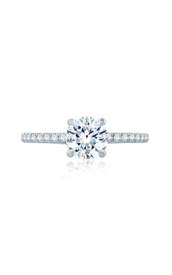 A.Jaffe Delicate Round Solitaire with Belted Gallery Detail ME2170Q-128 product image