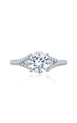 A.Jaffe Flowing Pave Diamond Split Shank Engagement Ring ME2158Q-169 product image
