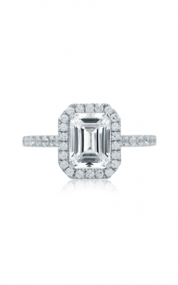 A.Jaffe Emerald Cut Halo Engagement Ring ME2051Q product image