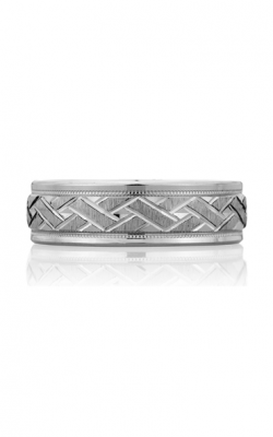 A. Jaffe Art Deco Wedding Band BR4263-PL product image