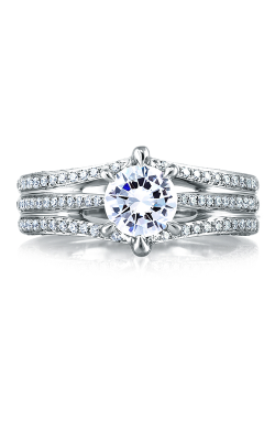 A. Jaffe Art Deco Engagement ring MES414-143 product image