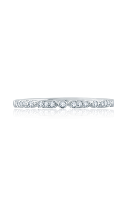 A. Jaffe Art Deco Wedding Band WR1056 product image