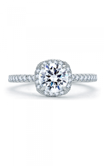 A. Jaffe Quilted Collection Engagement ring ME1860Q-153 product image