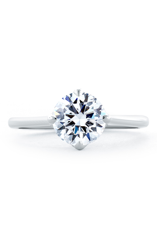 A.Jaffe Fancy Side Stone Engagement Ring ME1846Q-166 product image