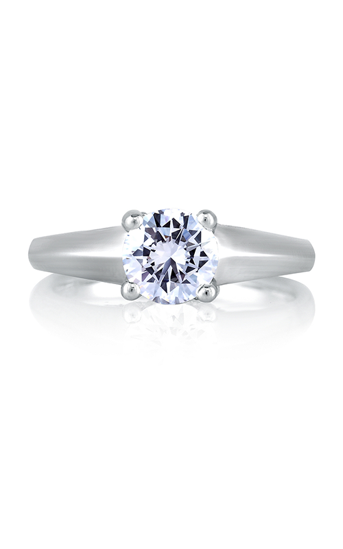 A. Jaffe Art Deco Engagement ring MES144-89 product image