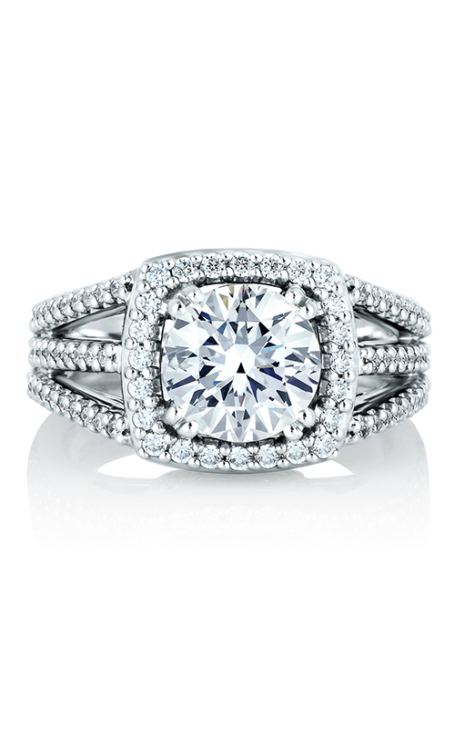A. Jaffe Metropolitan Engagement ring MES256-60A product image