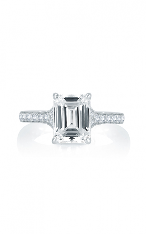 A. Jaffe Art Deco Engagement ring MES751Q-226 product image