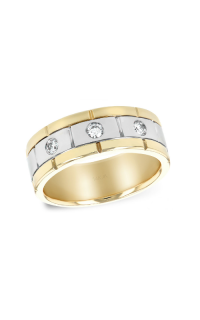 Allison Kaufman Men's Wedding Bands M213-72256