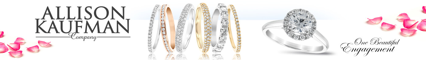 Allison-Kaufman Wedding Rings