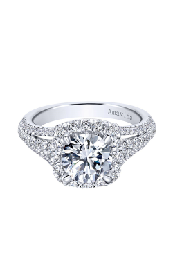 Amavida Contemporary Engagement ring ER11351R6W83JJ product image