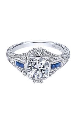 Amavida Victorian Engagement ring ER6501PT3SA product image