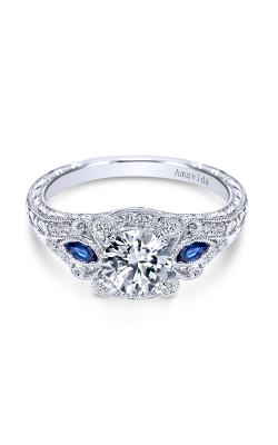 Amavida Victorian Engagement ring ER6514PT3SA product image