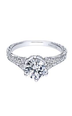 Amavida Victorian Engagement ring ER8774PT3JJ product image