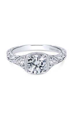 Amavida Victorian Engagement ring ER8777PT3JJ product image