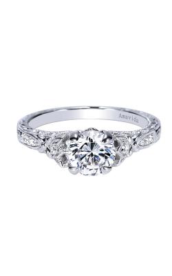 Amavida Victorian Engagement ring ER8781PT3JJ product image