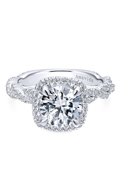 Amavida Contemporary Engagement ring ER12873R6W83JJ product image
