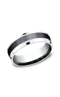 Ammara Stone Men's Wedding Bands CF457010BKT14KW06
