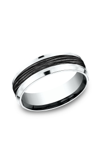 Ammara Stone Men's Wedding Bands CF457743BKT14KW06