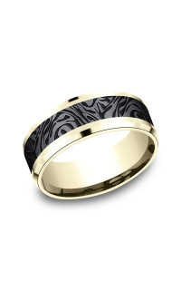 Ammara Stone Men's Wedding Bands CF948390BKT14KY06
