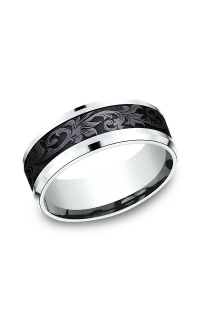Ammara Stone Men's Wedding Bands CF958391BKT14KW06