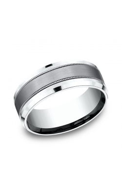 Ammara Stone Comfort-fit Design Wedding Band CF458013SGTA14KW08.5 product image