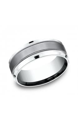 Ammara Stone Comfort-fit Design Wedding Band CF458013SGTA14KW09 product image
