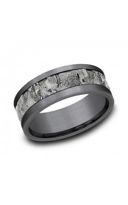 Ammara Stone Comfort-fit Design Wedding Band CF988633GTA14KW08 product image