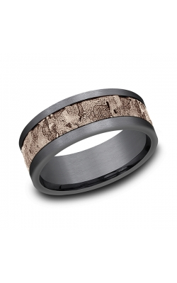 Ammara Stone Comfort-fit Design Wedding Band CF998633GTA14KR10 product image