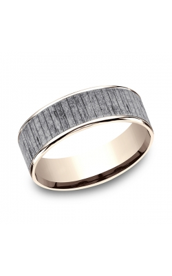 Ammara Stone Comfort-fit Design Wedding Band CFT9675630GTA14KR08 product image