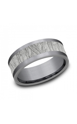 Ammara Stone Comfort-fit Design Wedding Band CF988635GTA14KW08 product image