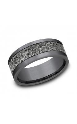 Ammara Stone Comfort-fit Design Wedding Band CFBP988629GTA14KW08 product image