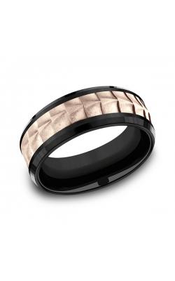 Ammara Stone Comfort-fit Design Wedding Ring CF398765BKT14KR09.5 product image