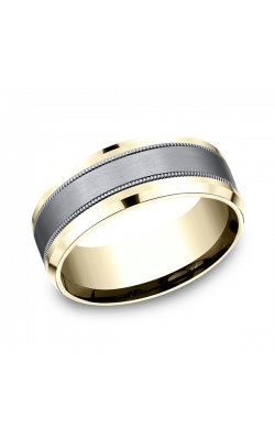 Ammara Stone Comfort-fit Design Wedding Band CF448013SGTA14KY07 product image