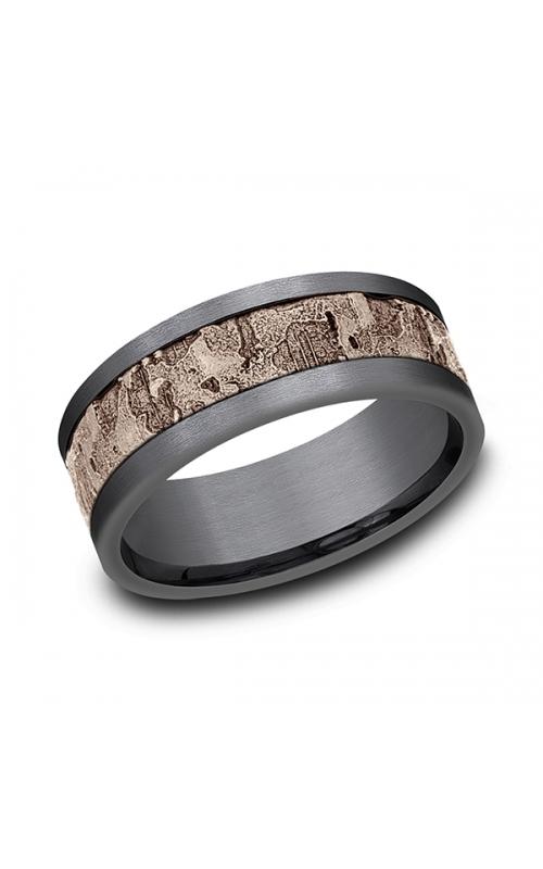 Ammara Stone Comfort-fit Design Wedding Band CF998633GTA14KR08 product image