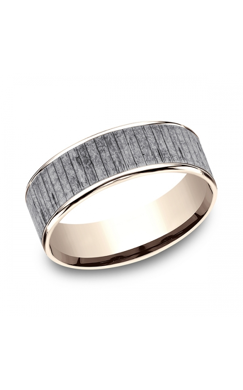 Ammara Stone Comfort-fit Design Wedding Band CFT9675630GTA14KR08 product image
