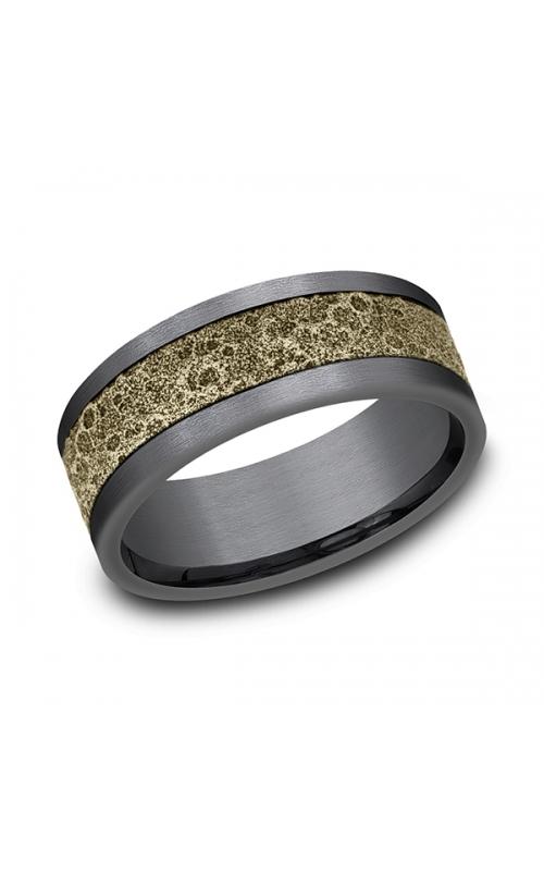 Ammara Stone Comfort-fit Design Wedding Band CFBP978629GTA14KY08 product image