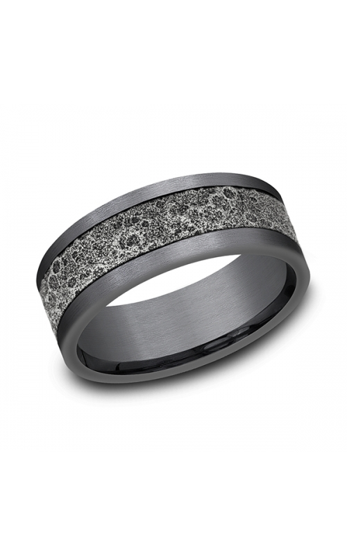 Ammara Stone Comfort-fit Design Wedding Band CFBP988629GTA14KW08 product image