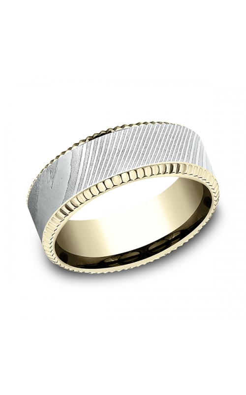 Ammara Stone Comfort-fit Design Wedding Ring CF338527DS14KY07 product image
