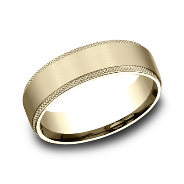 Ammara Stone Comfort-fit Design Wedding Band CF496574914KY07 product image