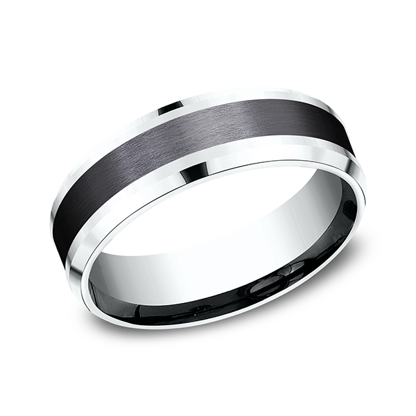 Ammara Stone Comfort-fit Design Ring CF457010BKT14KW06 product image