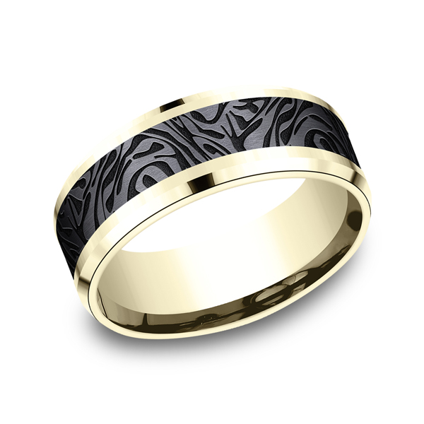 Ammara Stone Comfort-fit Design Ring CF948390BKT14KY06 product image