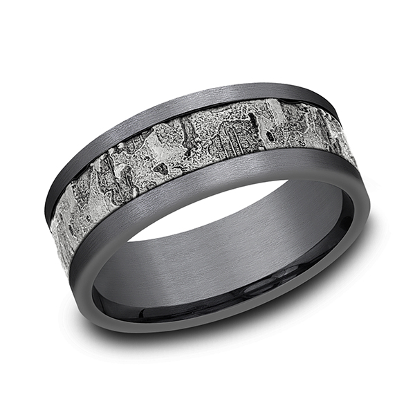 Ammara Stone Comfort-fit Design Wedding Band CF988633GTA14KW08 product image