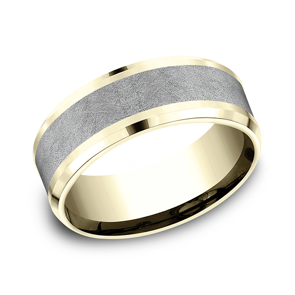 Ammara Stone Comfort-fit Design Wedding Band CF448070GTA14KY07 product image