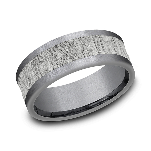 Ammara Stone Comfort-fit Design Wedding Band CF988635GTA14KW08 product image