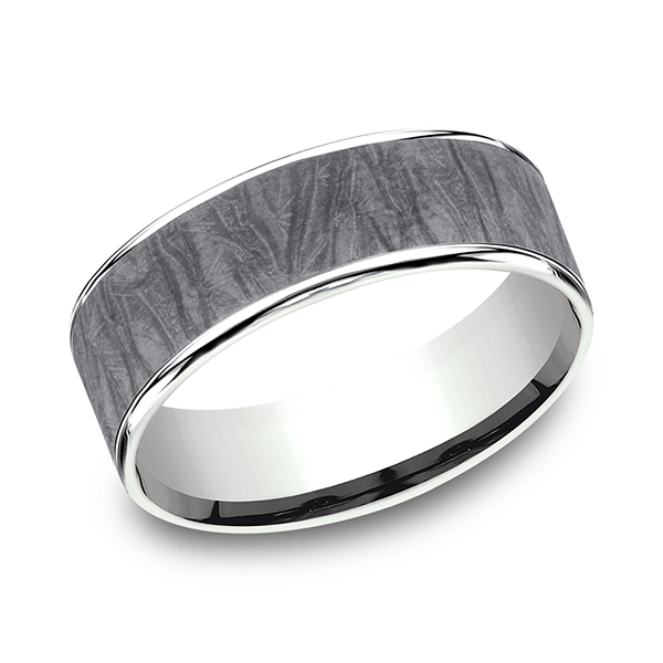 Ammara Stone Comfort-fit Design Wedding Band CFT9575635GTA14KW07 product image
