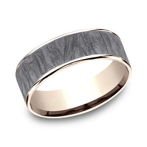 Ammara Stone Comfort-fit Design Wedding Band CFT9675635GTA14KR07 product image